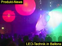 led-balloons for indoor-party